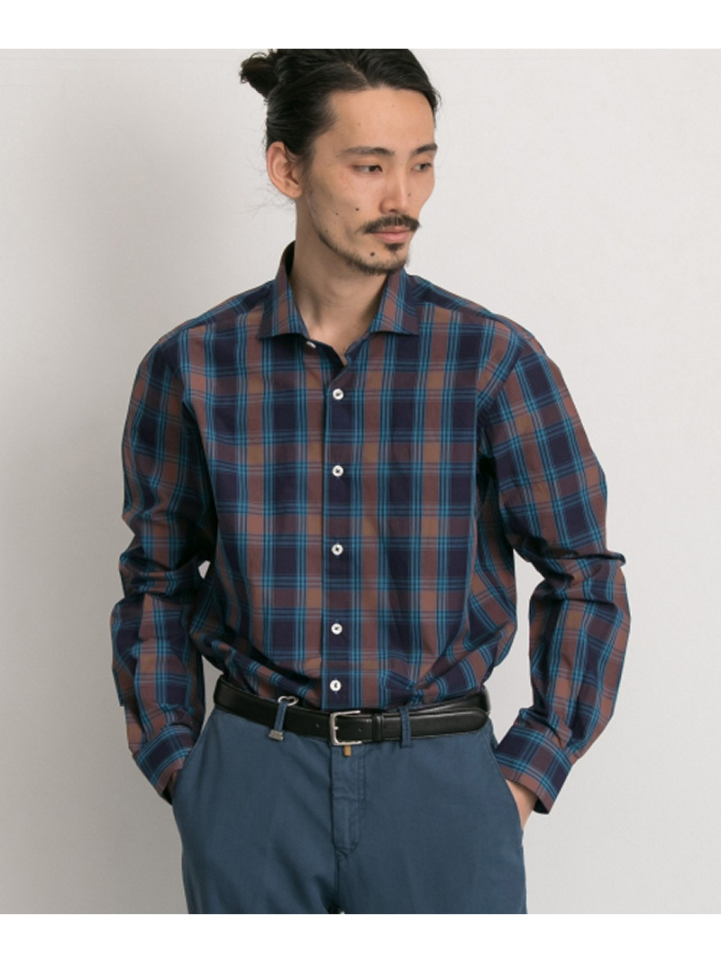 URBAN RESEARCH URBAN RESEARCH Tailor barbatiチェックシャツ アーバンリサーチ シャツ/ブラウス【送料無料】