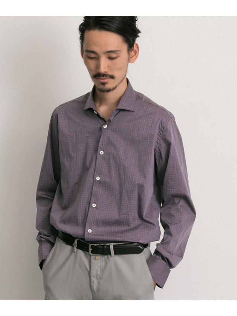 URBAN RESEARCH URBAN RESEARCH Tailor barbatiギンガムチェックシャツ アーバンリサーチ シャツ/ブラウス【送料無料】