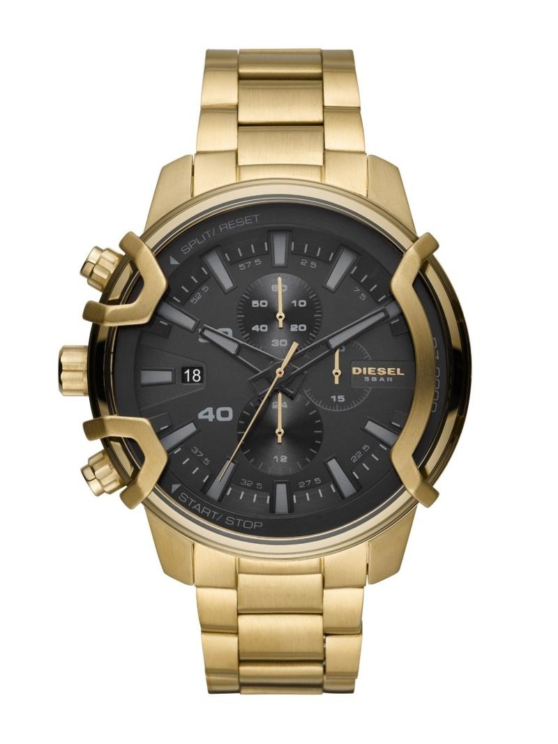 DIESEL DIESEL/(M)GRIFFED_DZ4522 ウォッチステーションインターナショナル ファッショングッズ 腕時計 ブラック【送料無料】
