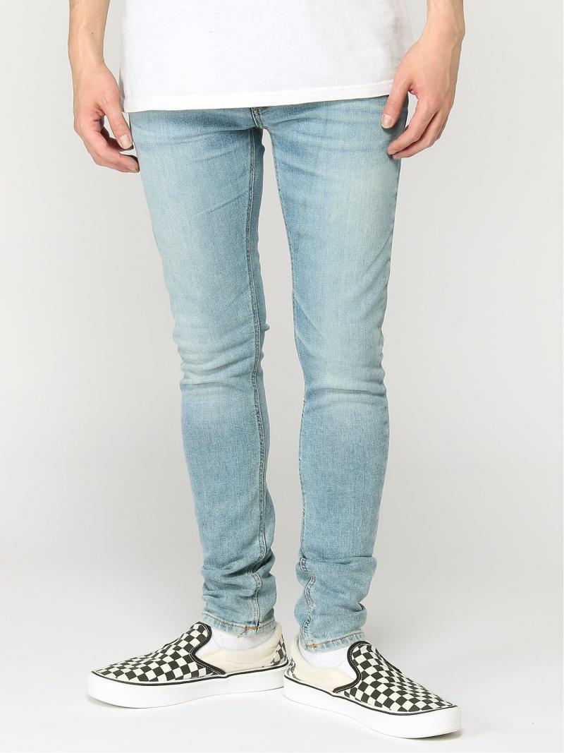 【SALE/50%OFF】nudie jeans nudie jeans/(M)Skinny Lin ヒーローインターナショナル マーケット プレイス パンツ/ジーンズ スキニージーンズ ブルー【RBA_E】【送料無料】
