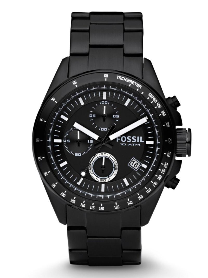 【SALE/30%OFF】FOSSIL FOSSIL/(M)DECKER_CH2601IE フォッシル ファッショングッズ 腕時計 ブラック【RBA_E】【送料無料】