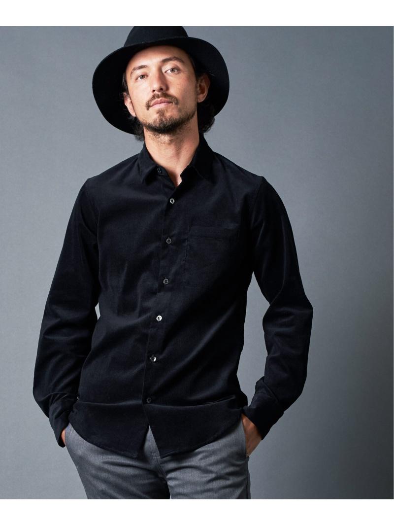Magine CORDULOY DRESS SHIRTS マージン シャツ/ブラウス 長袖シャツ ブラック ブラウン レッド カーキ【先行予約】*【送料無料】