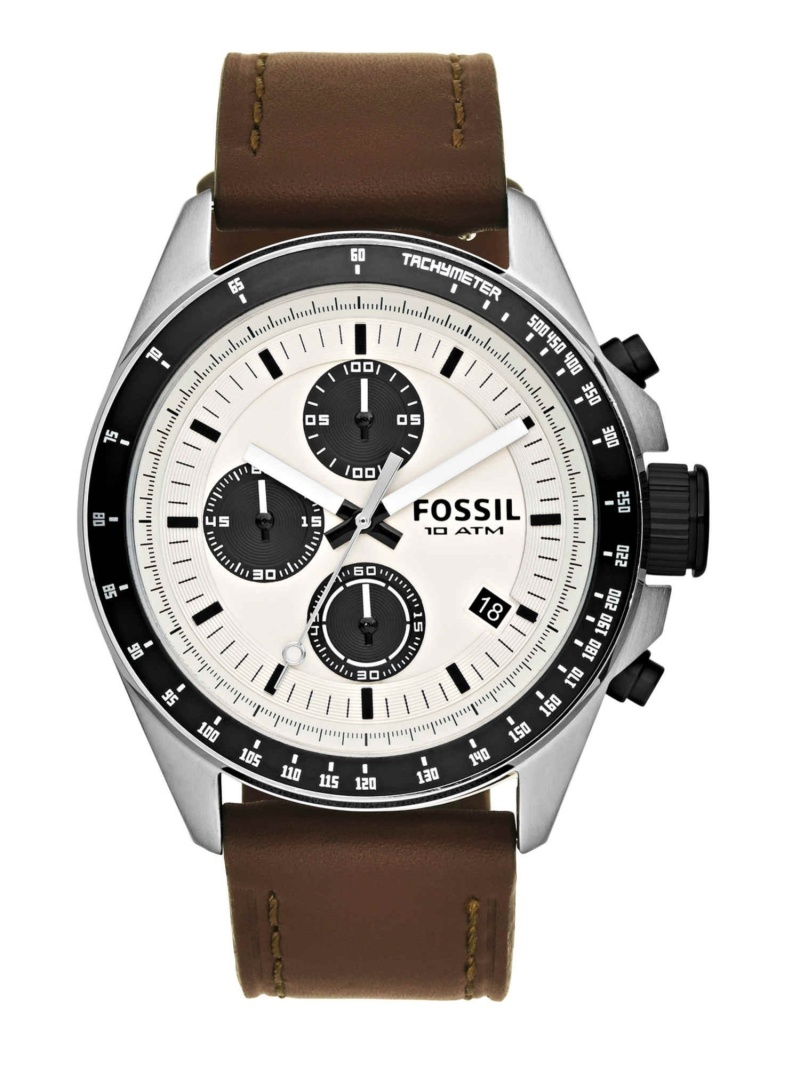 【SALE/30%OFF】FOSSIL FOSSIL/(M)DECKER_CH2882 フォッシル ファッショングッズ 腕時計 ホワイト【RBA_E】【送料無料】