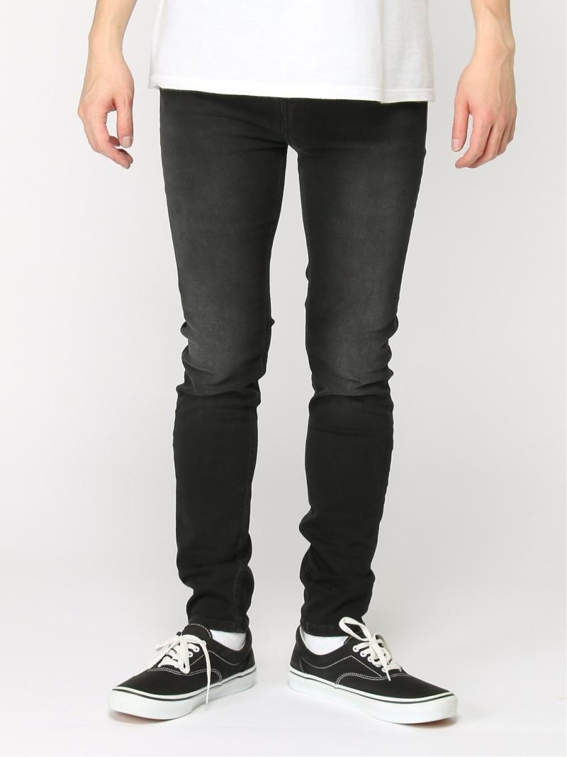 【SALE/50%OFF】nudie jeans nudie jeans/(M)Hightop Tilde ヒーローインターナショナル マーケット プレイス パンツ/ジーンズ スキニージーンズ ブラック【RBA_E】【送料無料】