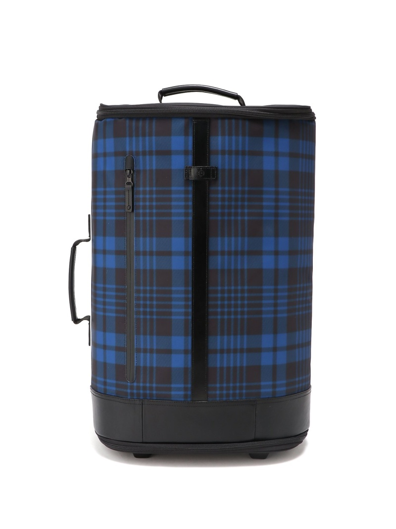 FREQUENT FLYER (U)Carry-on Trolley_Tartan Blue フリークエントフライヤー バッグ キャリーバッグ ブルー【送料無料】