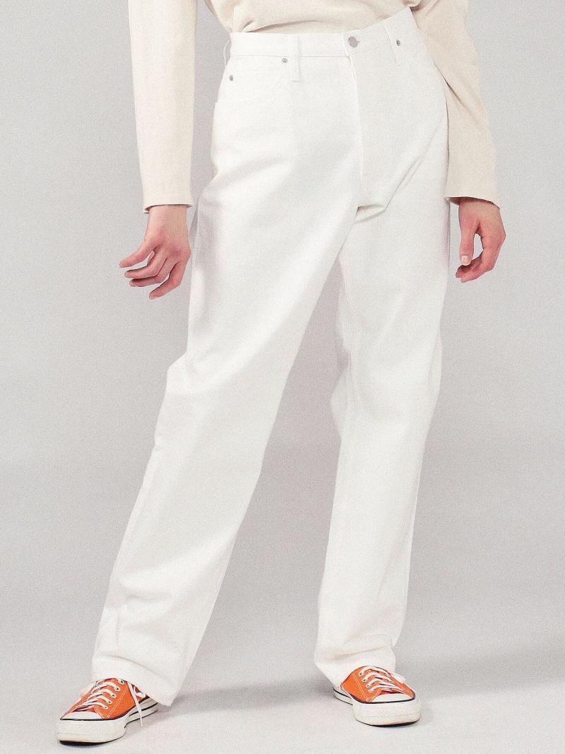 GALERIE VIE ホワイトデニム 5ポケットパンツ トゥモローランド パンツ/ジーンズ フルレングス【送料無料】