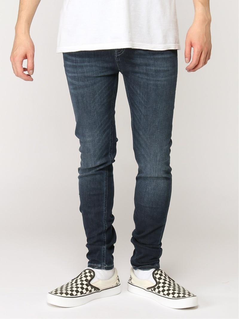 nudie jeans nudie jeans/(M)Hightop Tilde ヒーローインターナショナル マーケット プレイス パンツ/ジーンズ スキニージーンズ ネイビー【送料無料】