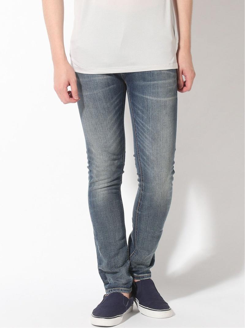 【SALE/50%OFF】nudie jeans nudie jeans/(M)Thin Finn ヒーローインターナショナル マーケット プレイス パンツ/ジーンズ スキニージーンズ ブルー【RBA_E】【送料無料】