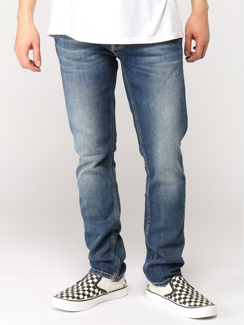 【SALE/50%OFF】nudie jeans nudie jeans/(M)Grim Tim ヒーローインターナショナル マーケット プレイス パンツ/ジーンズ ストレートジーンズ ブルー【RBA_E】【送料無料】
