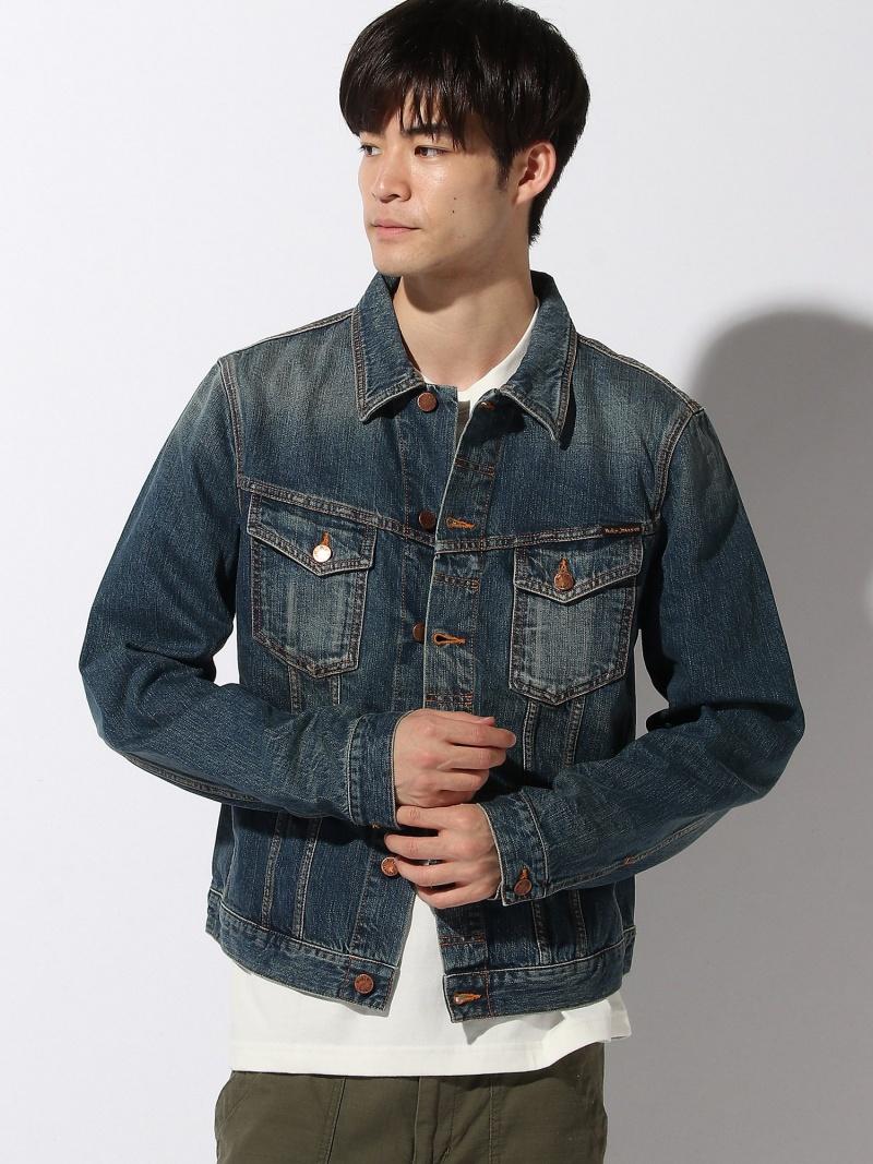 【SALE/50%OFF】nudie jeans nudie jeans/(M)Billy ヒーローインターナショナル マーケット プレイス コート/ジャケット デニムジャケット ブルー【RBA_E】【送料無料】