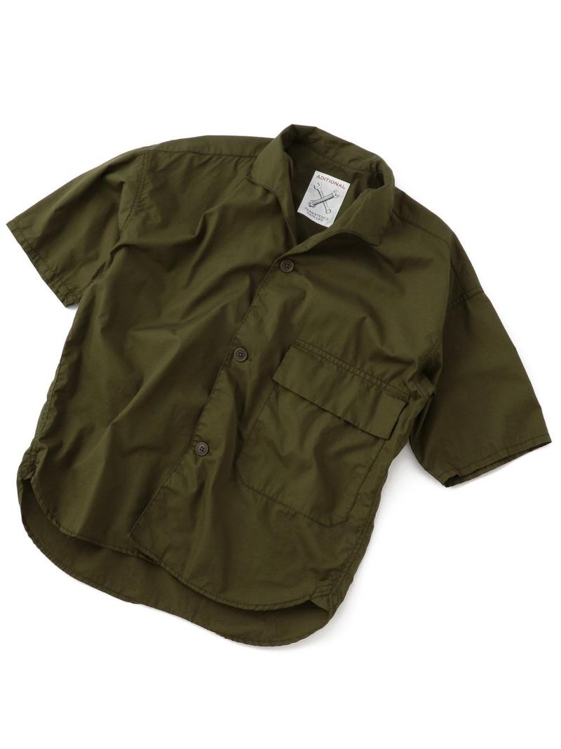 【SALE/20%OFF】ADITIONAL BIGポケットコットンシャツ メンズ ビギ シャツ/ブラウス【RBA_S】【RBA_E】【送料無料】