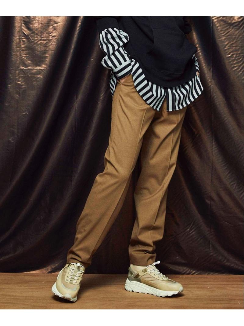 CARREMAN CARREMAN/キャリーマン ナポレオンタイトスラックス メゾンスペシャル パンツ/ジーンズ スラックス/ドレスパンツ ベージュ ブラック ブルー グリーン カーキ【送料無料】