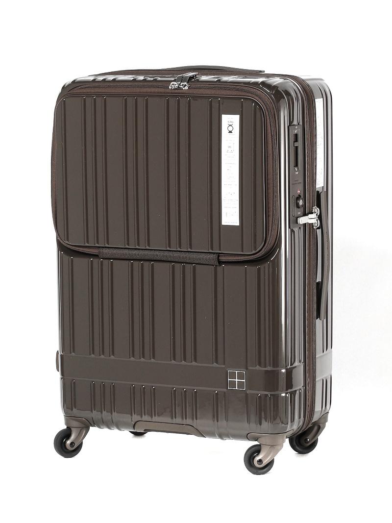 hands+ ライトスーツケース フロント;BR 58L トウキュウハンズ バッグ【送料無料】