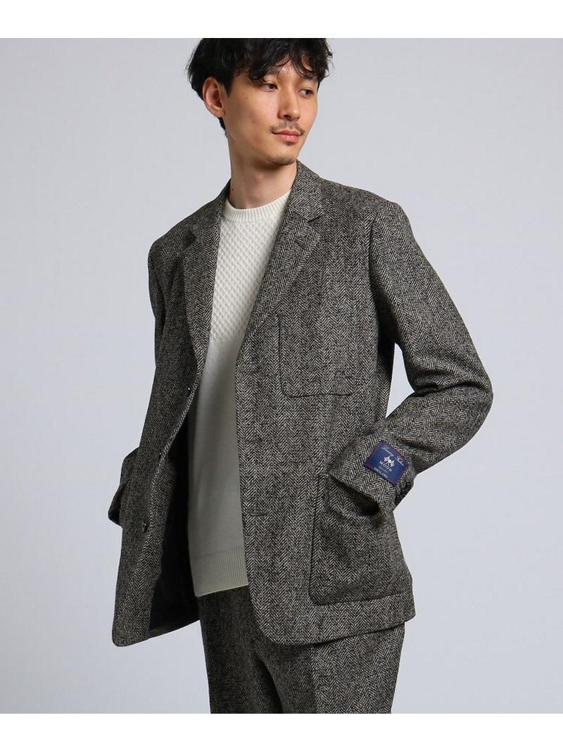 【SALE/40%OFF】TAKEO KIKUCHI ツィードヘリンボン ジャケット Fabric by MOON[ メンズ ジャケット ヘリンボン セットアップ ] タケオキクチ コート/ジャケット【RBA_S】【RBA_E】【送料無料】