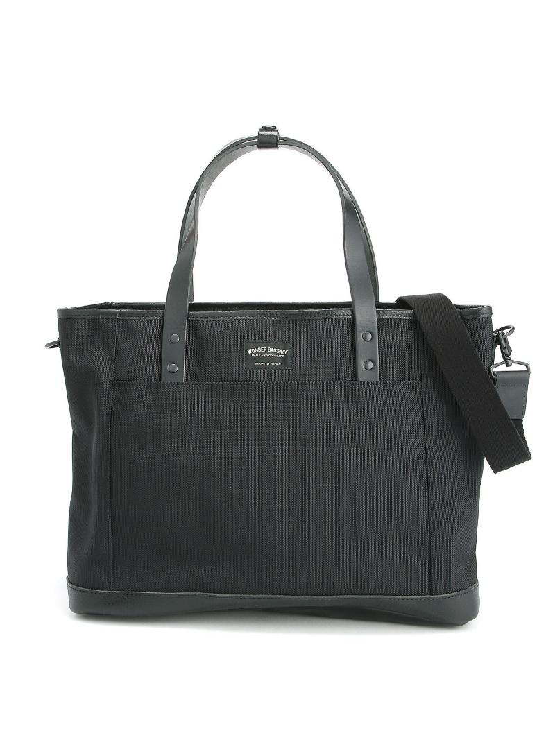 WONDER BAGGAGE WONDER BAGGAGE/(U)GM 2way tote bag ストラクト バッグ【送料無料】
