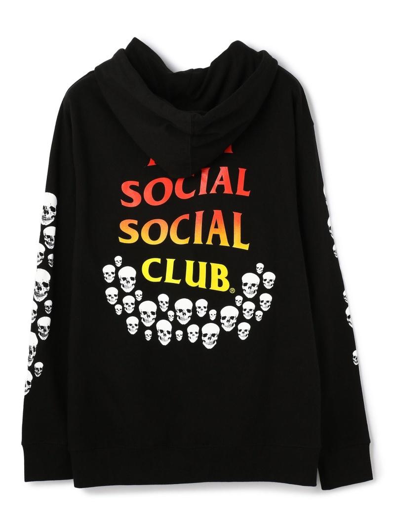 LHP AntiSocialSocialClub/アンチソーシャルソーシャルクラブ/Tanner Hoodie/グラフィックプルオーバーパーカー エルエイチピー カットソー パーカー ブラック【送料無料】