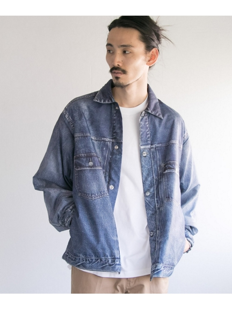 【SALE/40%OFF】URBAN RESEARCH VOTE MAKE NEW CLOTHES 3D FAT DENIM JACKET アーバンリサーチ コート/ジャケット【RBA_S】【RBA_E】【送料無料】