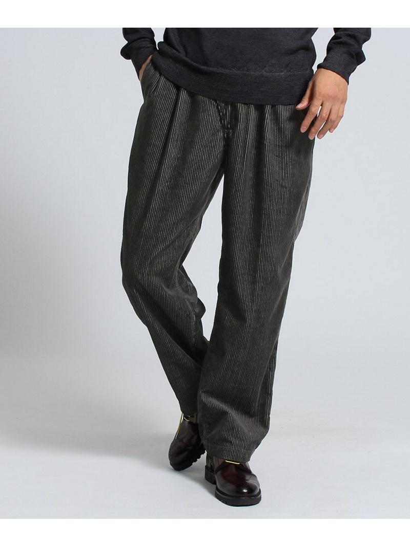 TAKEO KIKUCHI 2タックワイド コーデュロイパンツ Fabric by DUCA VISCONTI[ メンズ パンツ ] タケオキクチ パンツ/ジーンズ【送料無料】