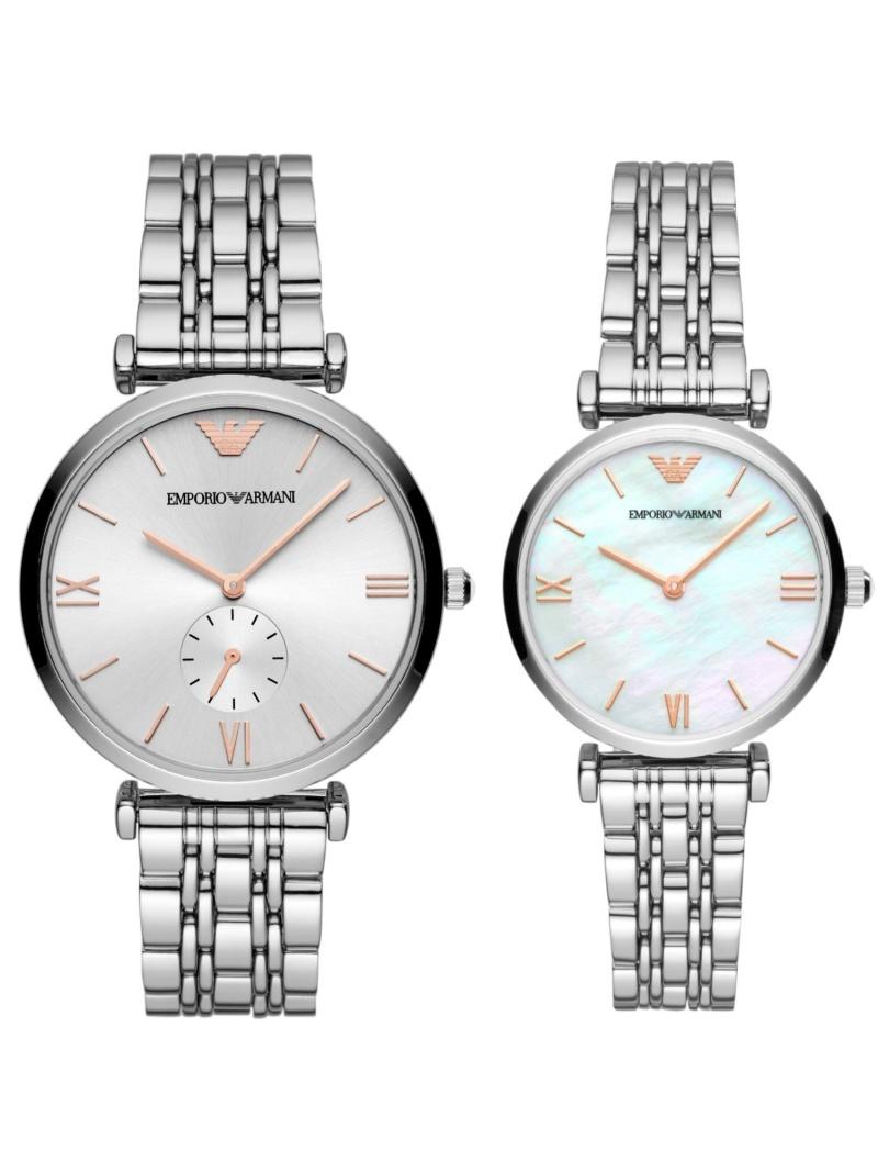 EMPORIO ARMANI EMPORIO ARMANI/(M)GIANNI T-BAR_AR90004 ウォッチステーションインターナショナル ファッショングッズ 腕時計 グレー【送料無料】