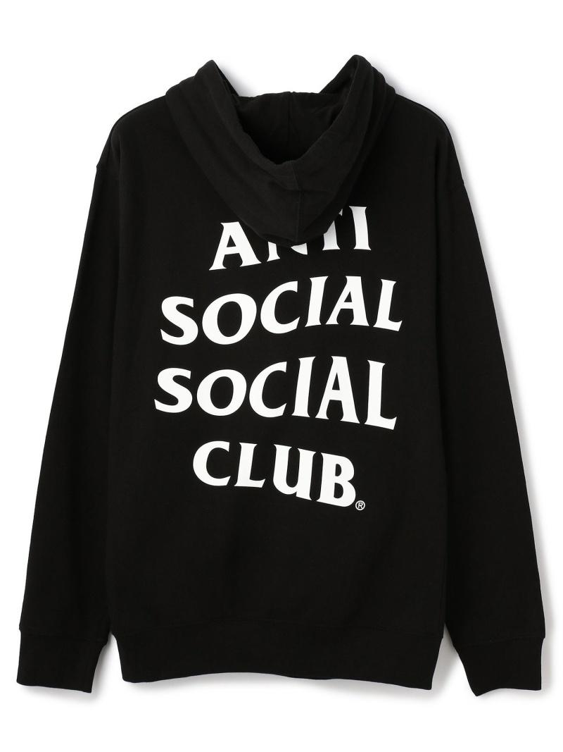 LHP AntiSocialSocialClub/アンチソーシャルソーシャルクラブ/Mind Games Hoodie/グラフィックプルオーバーパーカー エルエイチピー カットソー パーカー ブラック【送料無料】