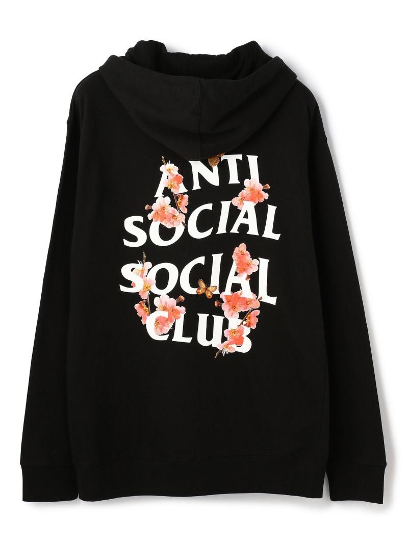 LHP AntiSocialSocialClub/アンチソーシャルソーシャルクラブ/Kkoch Hoodie/グラフィックプルオーバーパーカー エルエイチピー カットソー パーカー ブラック【送料無料】