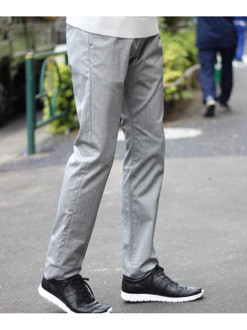 MEN'S BIGI 高橋克典さん着用 ヘリンボーンストレッチパンツ メンズ ビギ パンツ/ジーンズ【送料無料】