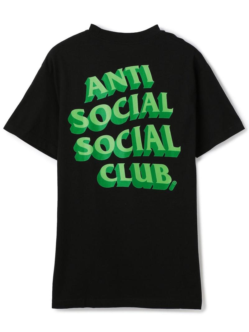 LHP AntiSocialSocialClub/アンチソーシャルソーシャルクラブ/Popcorn Tee/グラフィックプリントTシャツ エルエイチピー カットソー Tシャツ ブラック【送料無料】