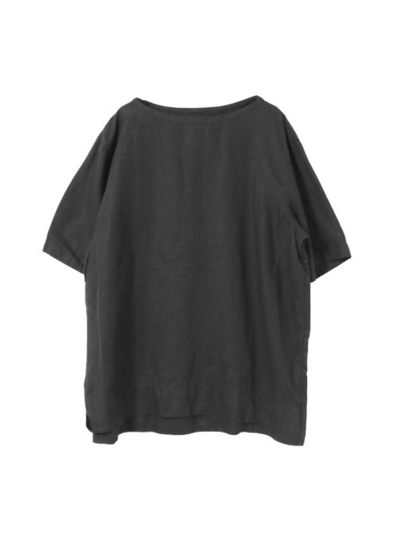 URBAN RESEARCH AUGUSTEPRESENTATION半袖プルオーバー アーバンリサーチ カットソー Tシャツ ブラック【送料無料】
