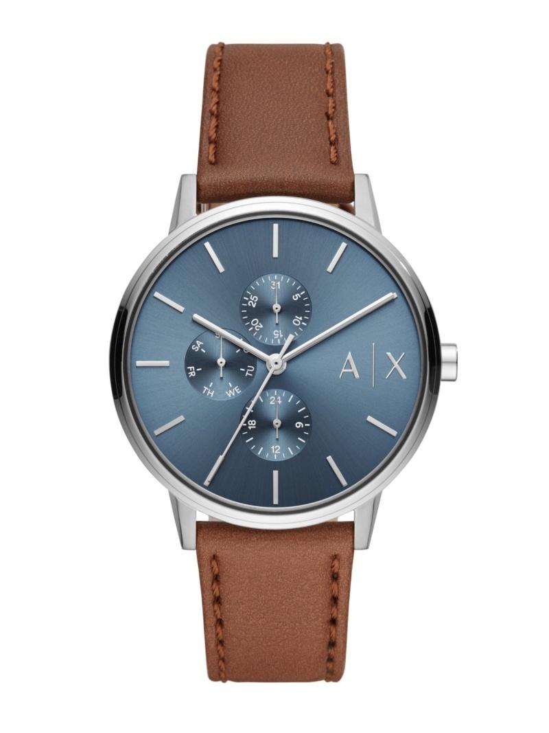 A|X ARMANI EXCHANGE A|X ARMANI EXCHANGE/(M)CAYDE_AX2718 ウォッチステーションインターナショナル ファッショングッズ 腕時計 ブルー【送料無料】