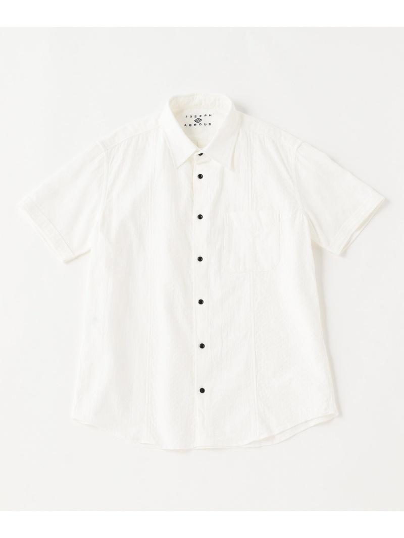JOSEPH ABBOUD 30周年記念ホワイトクレイジーパターン シャツ ジョセフアブード シャツ/ブラウス【送料無料】