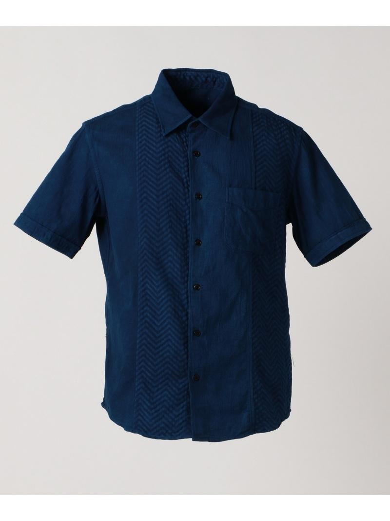 当季大流行 JOSEPH 長袖シャツ シャツ ABBOUD 藍手染めクレイジーパターン シャツ ジョセフアブード シャツ/ブラウス 長袖シャツ JOSEPH ネイビー【送料無料】:Rakuten Fashion Men, ベッド&マットレス:e9fcf3e2 --- nagari.or.id