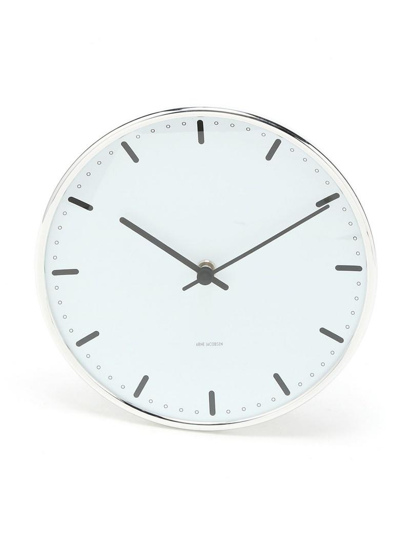 ARNE JACOBSEN (U)ARNE JACOBSEN Wall Clock CityHall 210mm アルネ ヤコブセン 生活雑貨【送料無料】