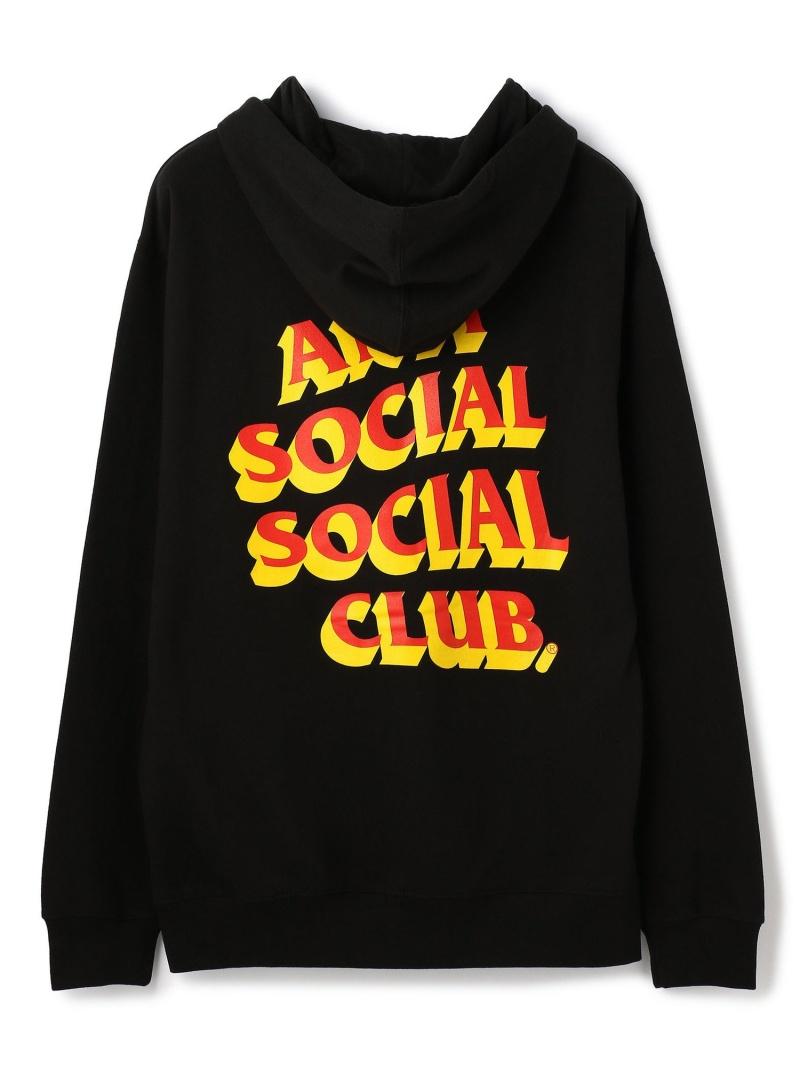 LHP AntiSocialSocialClub/アンチソーシャルソーシャルクラブ/Popcorn Black Hoodie/グラフィックプルオーバーパーカー エルエイチピー カットソー パーカー ブラック【送料無料】