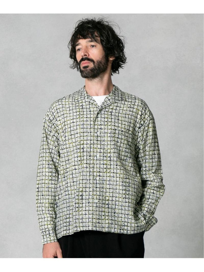 【SALE/40%OFF】UNITED TOKYO SUSHI オープンカラーシャツ ユナイテッドトウキョウ シャツ/ブラウス シャツ/ブラウスその他 ブラック【RBA_E】【先行予約】*【送料無料】