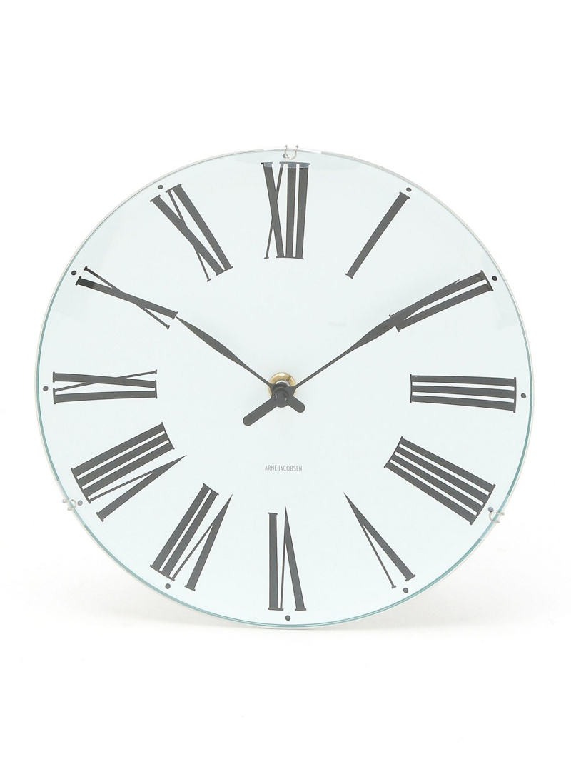 ARNE JACOBSEN (U)ARNE JACOBSEN Wall Clock Roman 210mm アルネ ヤコブセン 生活雑貨【送料無料】