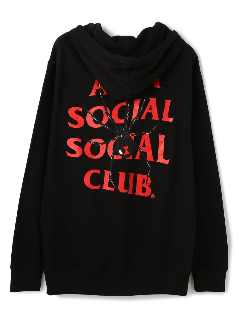 LHP AntiSocialSocialClub/アンチソーシャルソーシャルクラブ/Bitter Black Hoodie/グラフィックプルオーバーパーカー エルエイチピー カットソー パーカー ブラック【送料無料】