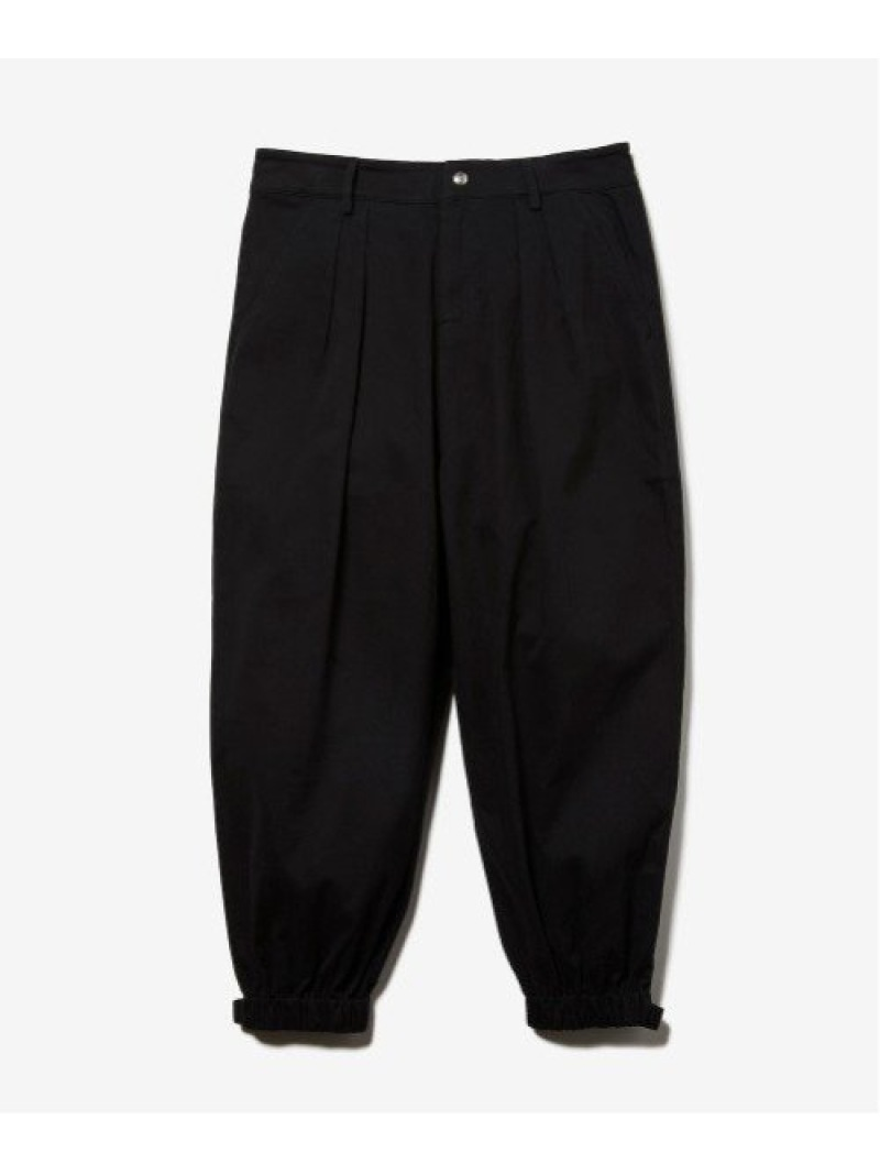 rehacer Easy Tactical Ankle Cut Pants レアセル パンツ/ジーンズ フルレングス ブラック カーキ【送料無料】