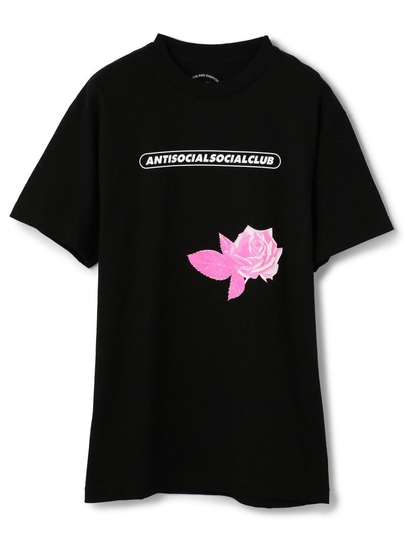 LHP AntiSocialSocialClub/アンチソーシャルソーシャルクラブ/Lager Black Tee/グラフィックプリントTシャツ エルエイチピー カットソー Tシャツ ブラック【送料無料】