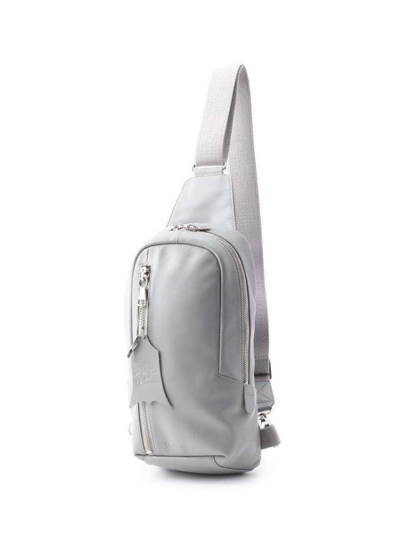 tk.TAKEO KIKUCHI イタリアンレザー 縦型ボディバッグ ティーケータケオキクチ バッグ【送料無料】