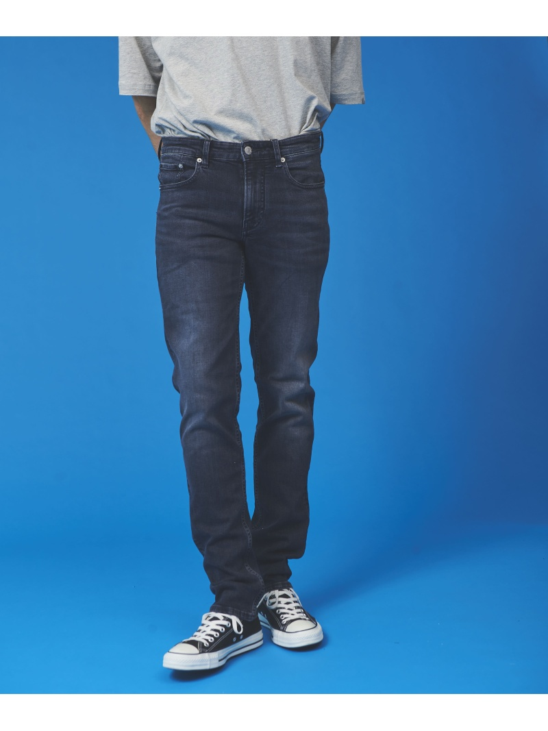 【SALE/50%OFF】Calvin Klein Jeans CALVIN KLEIN 【カルバン クライン ジーンズ】 メンズ ロゴ パンツ カルバン・クライン パンツ/ジーンズ ストレートジーンズ ネイビー【RBA_E】【送料無料】