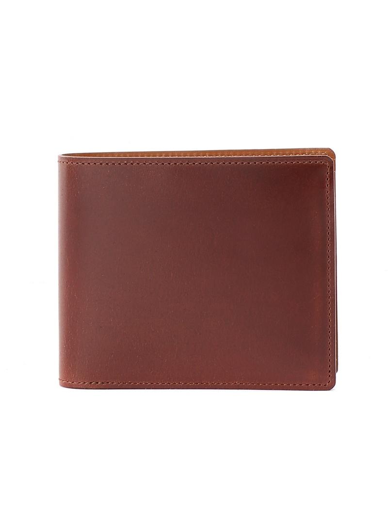 PRAIRIE GINZA ナチュラルグレージングコードバン二つ折り札入れ(小銭入れなし) プレリー 財布/小物【送料無料】