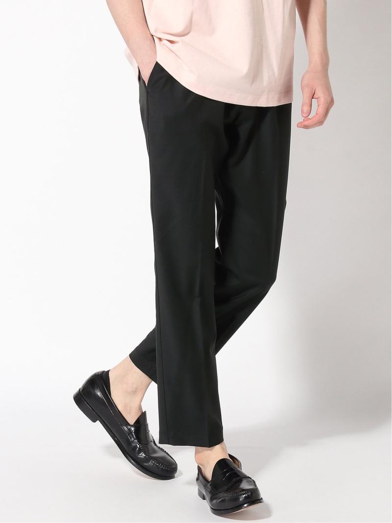 JOURNAL STANDARD NUMBERM Straight pants ジャーナル スタンダード パンツ/ジーンズ フルレングス ブラック グレー【送料無料】