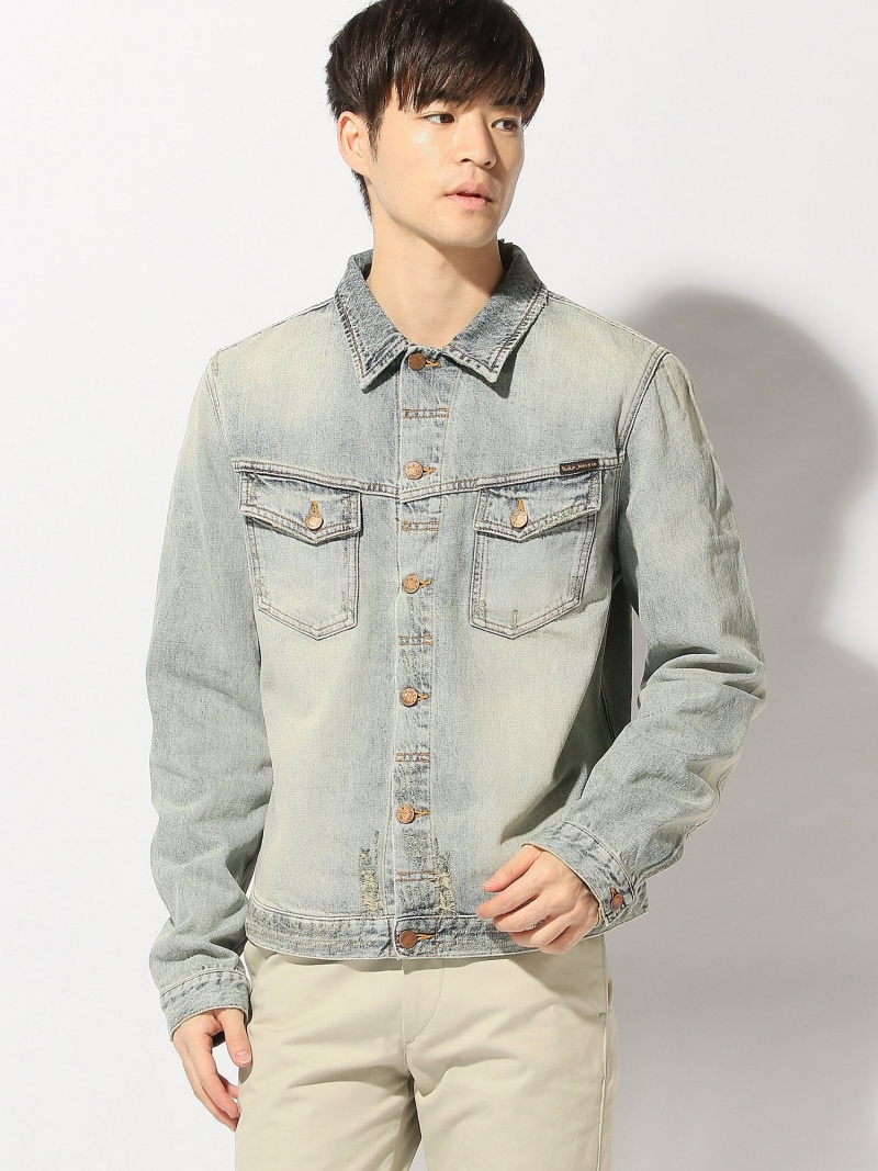 nudie jeans nudie jeans/(M)Kenny ヌーディージーンズ / フランクリンアンドマーシャル コート/ジャケット【送料無料】