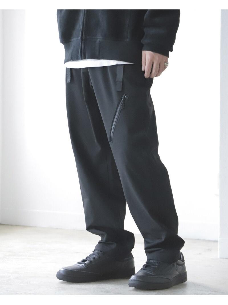 BEAMS MEN GRAMICCI × BEAMS / 別注 ダブル ウェビング パンツ ビームス メン パンツ/ジーンズ フルレングス ブラック カーキ【先行予約】*【送料無料】