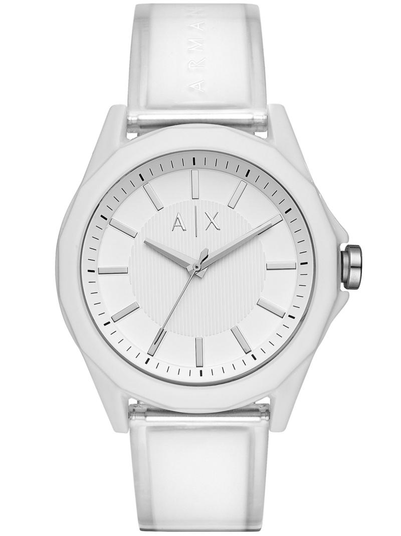 A|X ARMANI EXCHANGE A|X ARMANI EXCHANGE/(M)DREXLER_AX2630 ウォッチステーションインターナショナル ファッショングッズ 腕時計 ホワイト【送料無料】