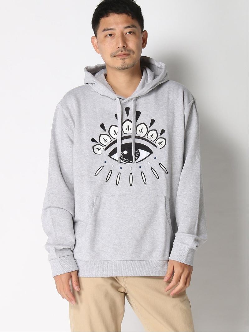 KENZO (M)Eye Hoodie Sweatshirt ケンゾー カットソー スウェット グレー【送料無料】