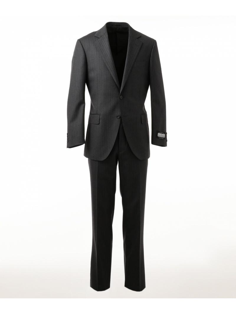 オープニング 大放出セール 【SALE/22%OFF】gotairiku ストレッチスーツ ピンストライプ(グレー) ゴタイリク ビジネス/フォーマル セットアップスーツ グレー ゴタイリク【RBA_E】【送料無料】:Rakuten Fashion Men, Liberalization:a26bbff7 --- nagari.or.id