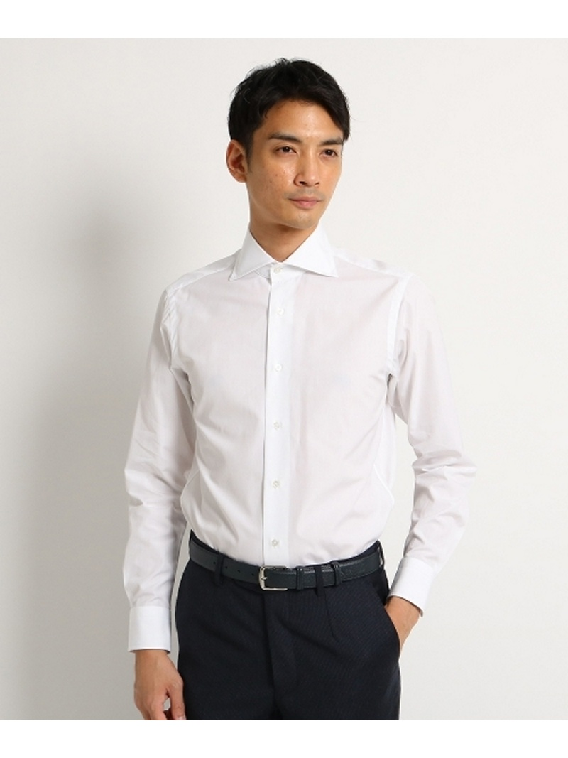 DRESSTERIOR THOMAS MASON ポプリンドレスシャツ ドレステリア シャツ/ブラウス【送料無料】