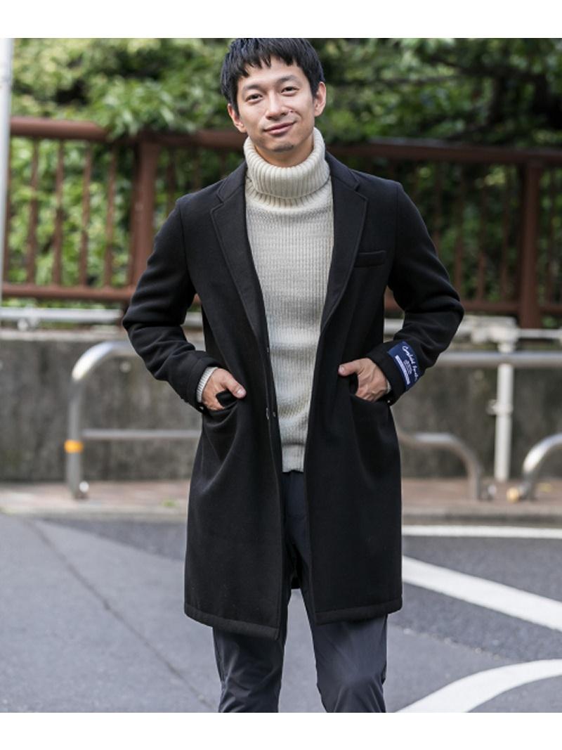 Sonny Label メルトンチェスターコート サニーレーベル コート/ジャケット【送料無料】