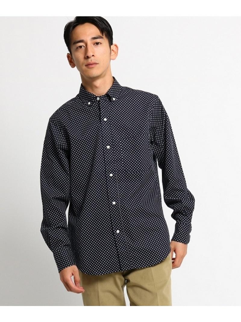 DRESSTERIOR(Men) 【洗える】ブロードドットプリントシャツ ドレステリア シャツ/ブラウス【送料無料】